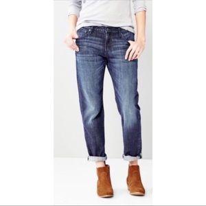 American Eagle boy fit crop jeans